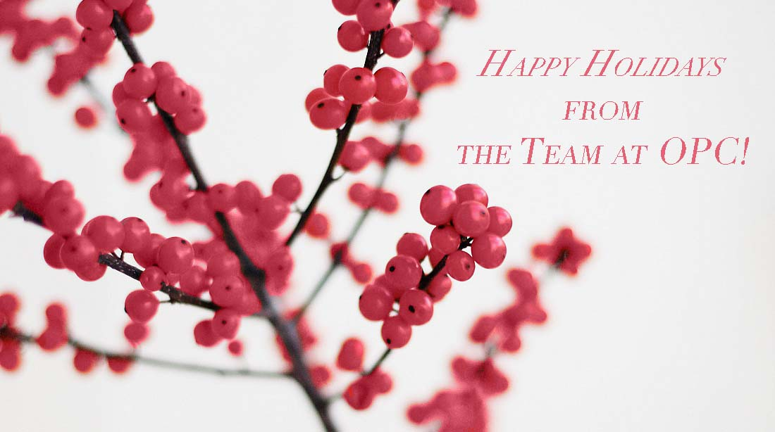 Happy Holidays OPC 2015